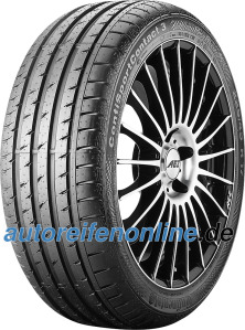 buy best Continental SportContact 3 255/40 R18 low price online 2017 for car